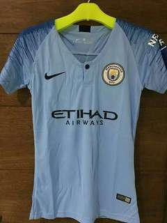 Jersey Bola Manchester City Home Ladies World Cup 2018/2019 Grade Ori