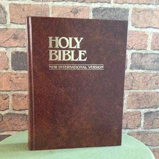 Holy Bible - Big Wording