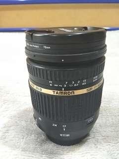 Tamron 17-50 mm f 2 .8 vc len
