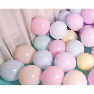 🚚 (In Stock)50pcs Macaroon balloons Set