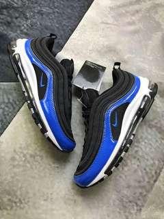 Nike Air Max 97 Black/Blue Nebula 黑藍色男跑鞋 921826-011