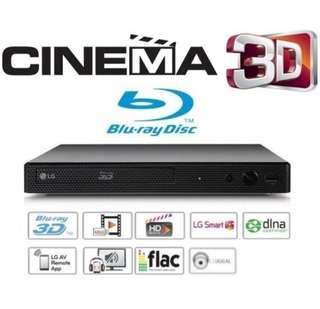 LG BP450 Multi region Blu-ray dvd player