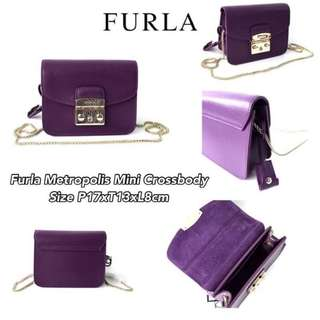 Authentic furla mini metropolis