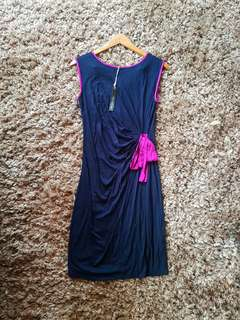*BNEW* Saint Tropez West Blue Dress with tags