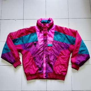 VINTAGE Nevica Color Block Ski Jacket (NEGOTIABLE)