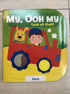 Board Book My, Ooh My Look at That - Farm