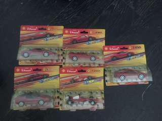 Shell Ferrari collection