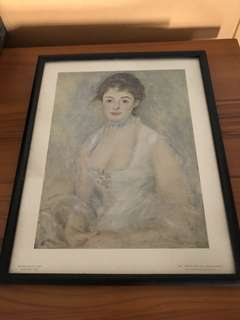 Madame Henriot Paper Painting