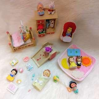 森林家族 床 溜滑梯 娃娃椅 衣櫃 玩具 收藏 珍藏 袖珍 縮小 配件 擺飾 拍照