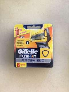 Gillette Fusion Proshield Yellow Razor Blade Cartridges 8-pack