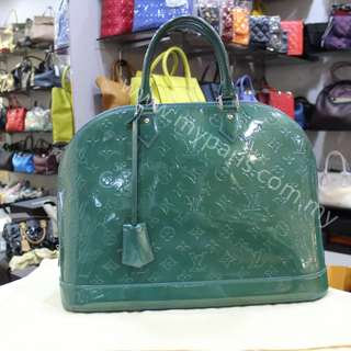 Louis Vuitton Monogram Vernis Alma GM