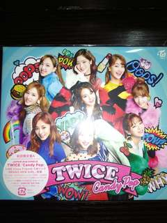 TWICE CANDY POP 日本專輯