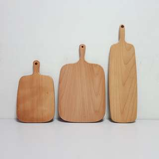 [For Rent] 3 Mixture Wooden Plates SM013