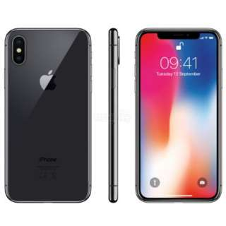 Iphone X  64 GB , New Box Pack ( Any Color )