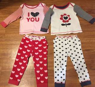 Mothercare Babies Sleepwear Set (12-18m)