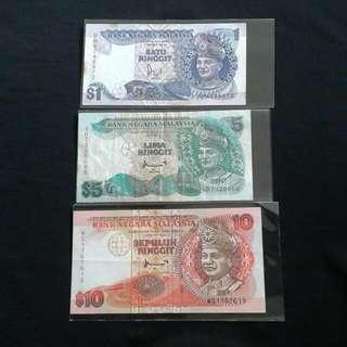 Set koleksi duit lama