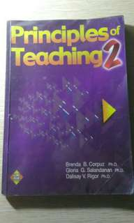 PRINCIPLES OF TEACHING 2
