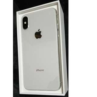 Apple iPhone X 128GB silver