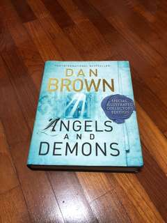 Angels and Demonds Dan Brown special illustrated collectors edition
