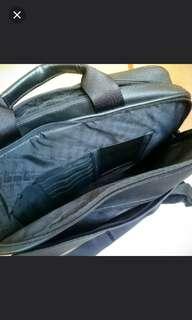 FX 黑色手提單肩公文包