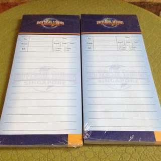 Magnetic Notepad Universal Studio