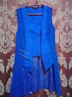 Korean blue vest