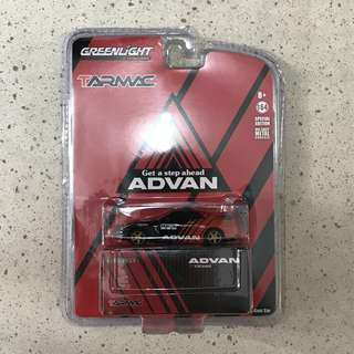 Greenlight Tarmac Advan Nissan GT-R