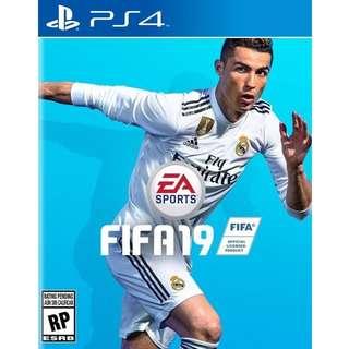 PS4 FIFA 19 Preorder