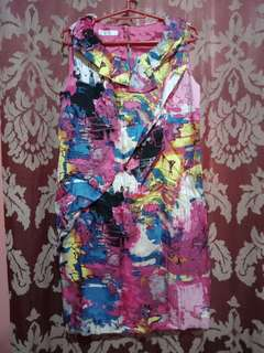 Korean pink dress
