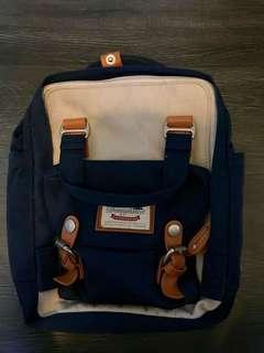Doughnut Macaroon Ivory/Navy Bag