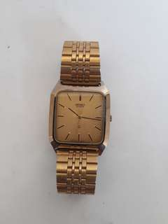 Seiko Gold vintage Quartz 2nd original mulus