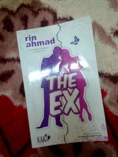 Novel The Ex by Rin Ahmad (preloved novel melayu)