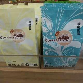 馬來西亞代購 檸檬茶/ 玫瑰花茶(咖啡城)