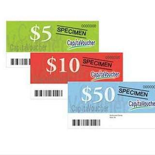 $100 Worth Of Capitaland Voucher At $95