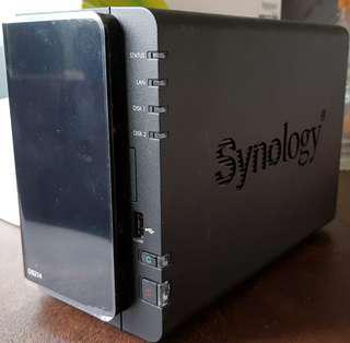 Synology NAS DISKSTATION DS214 with 4Tb Storage