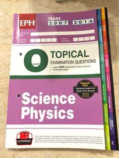 Science physics olvl topical