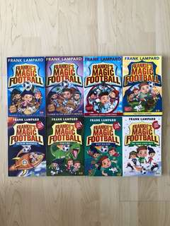 Frankie's Magic Football: Frankie Vs the Pirate Pillagers / Frankie Vs the Mummy's Menace / Frankie Saves Christmas / The Grizzly Games / The Great Santa Race / Meteor Madness / Team T.Rex / Deep Sea Dive By Frank Lampard