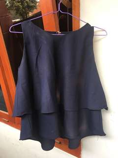 Halter top navy