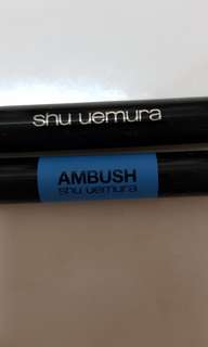 Shu Uemura lasting soft gel pencil/crayon in black and dark brown