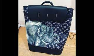 Louis Vuitton Chapman Brothers Collection Elephant Bagpack