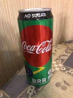 可口可樂2018世界杯紀念版-巴西🇧🇷罐(泰國🇹🇭特別版)