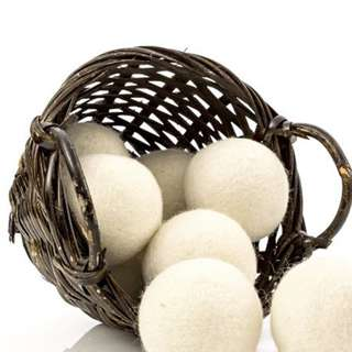 Wool Natural Dryer balls 6pc!