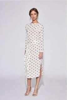 Solene wrap dress
