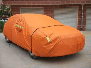 [DARK CLOUD - OXFORD ORANGE] 💥 EXTRA STRONG OXFORD CAR COVER / VEHICLE PROTECTOR ▶️HIGH QUALITY ✔️BELT LOCK ▶️ZIP ✔️RETRO-REFLECTIVE ▶️BAG ✔️EXTRA STRONG ▶️WATERPROOF  ✔️UV ▶️ANTI-DUST ✔️ANTI-SCRATCH ▶️THERMAL INSULATION