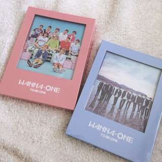 |READYSTOCK-SEALED| WANNAONE TO BE ONE ALBUM