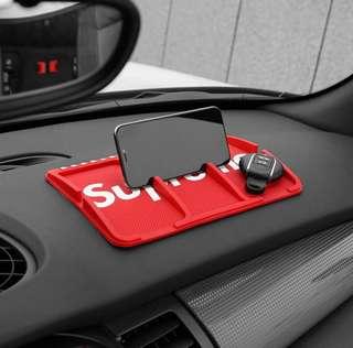 Supreme Car Dashboard Antislip Mat For Handphones