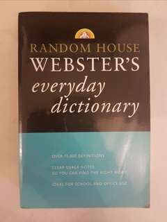 Random House WEBSTER'S everyday dictionary (2002)