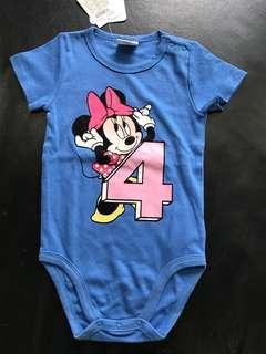 Brand new Disney Minnie romper 🌟 Baby Onesie