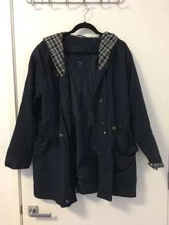 Navy Lightweight coat