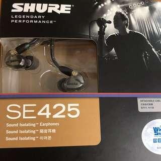 shure 隔音耳機SE425